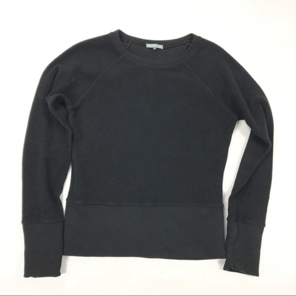 b63a48170f6b95 James Perse Tops - Thick James Perse THERMAL PULLOVER Black 3   Lg